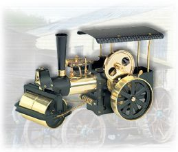 Wilesco Steam Roller Black/Brass D366.Free UK delivery ! £260.00